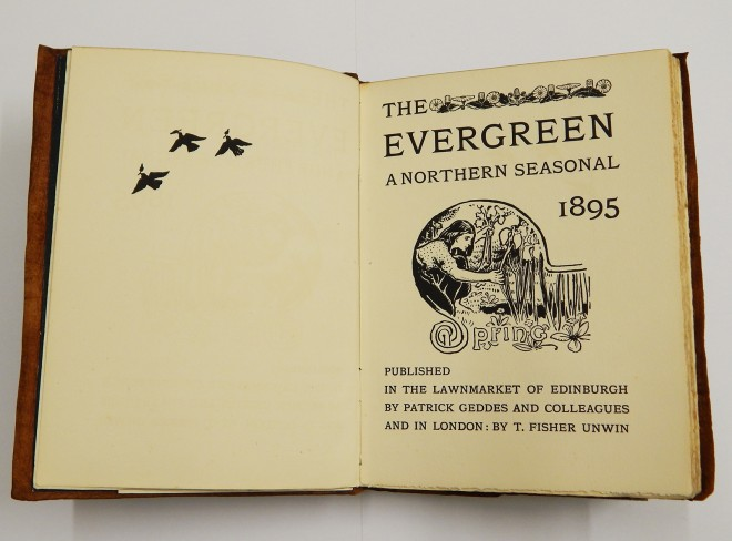 Evergreen Spring edition National Museums Scotland archive