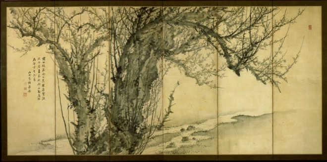 Plum Tree, by Sugai Baikan, first half 19th century