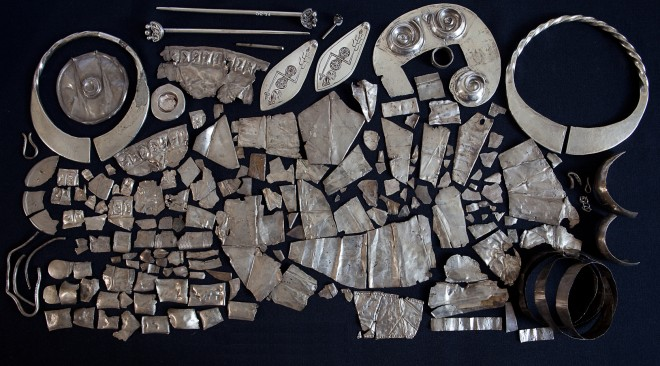 The surviving silver from the Norrie's Law hoard