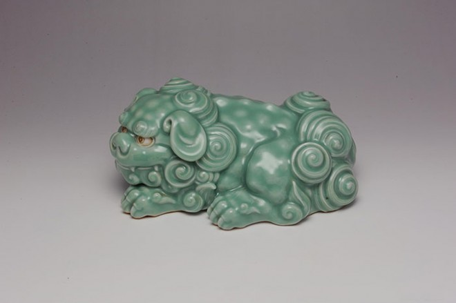 Shishi by Miyagawa Kozan I