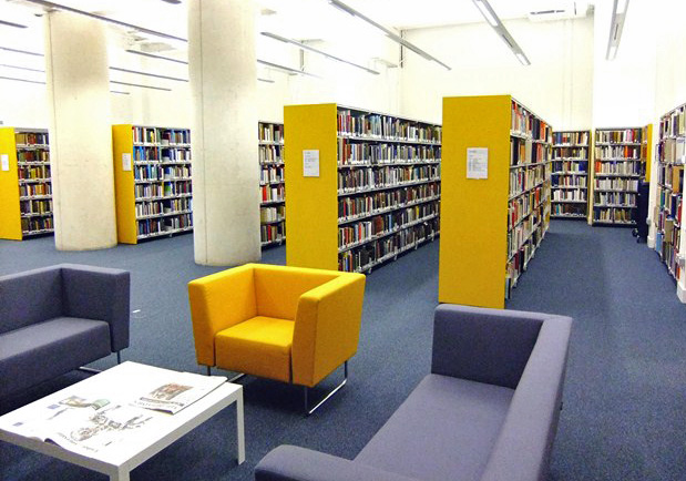Our Research Library where staff and visitors can consult our collections.
