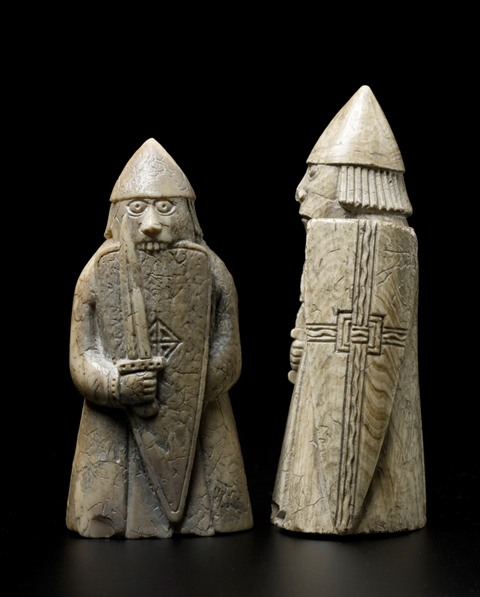 The Lewis Chessmen do Abba!…..These pieces are very popular we get a constant stream of requests, especially from the US and Lewis!