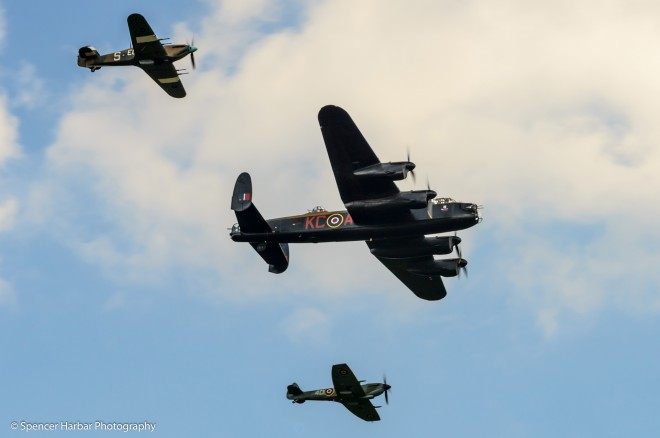 RAF Battle of Britain Memorial Flight  © Spencer Harbar Photography