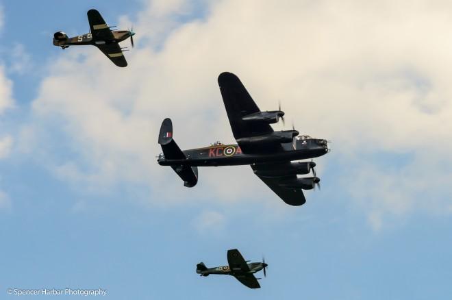 RAF Battle of Britain Memorial Flight  © Spencer Harbar Photography