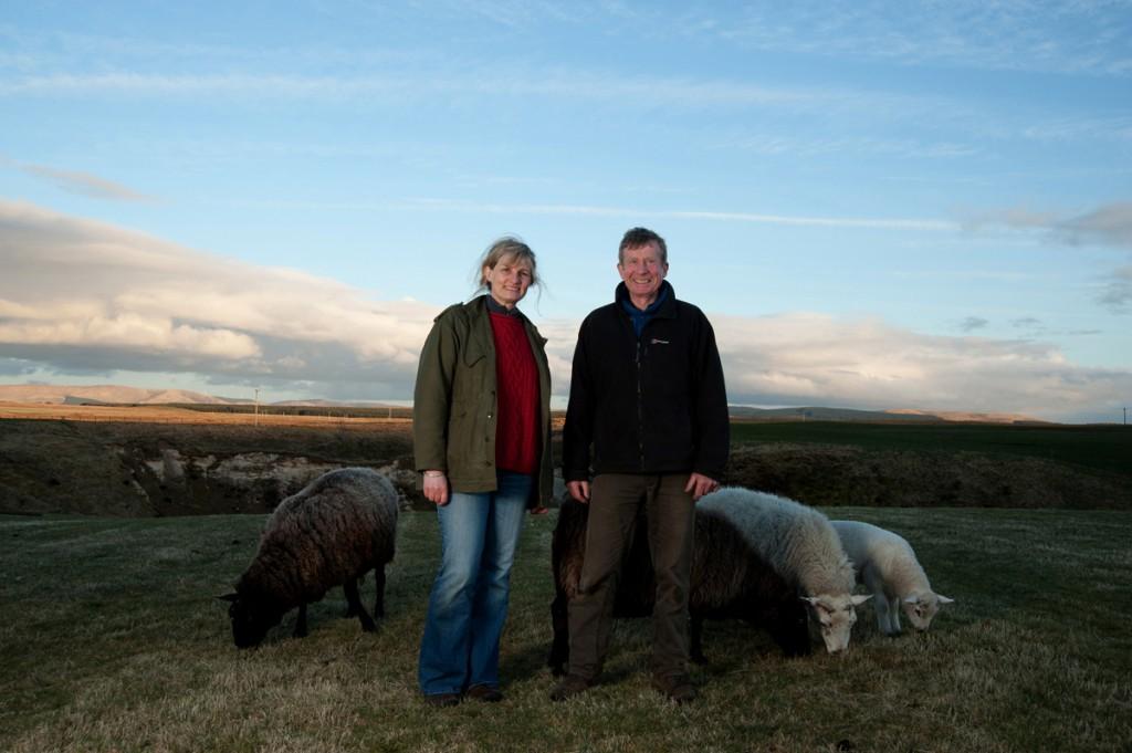 Debbie and Frank Harvey, 'Lonelybield', Kitleyknowe, Scottish Borders, Alicia Bruce, 2013