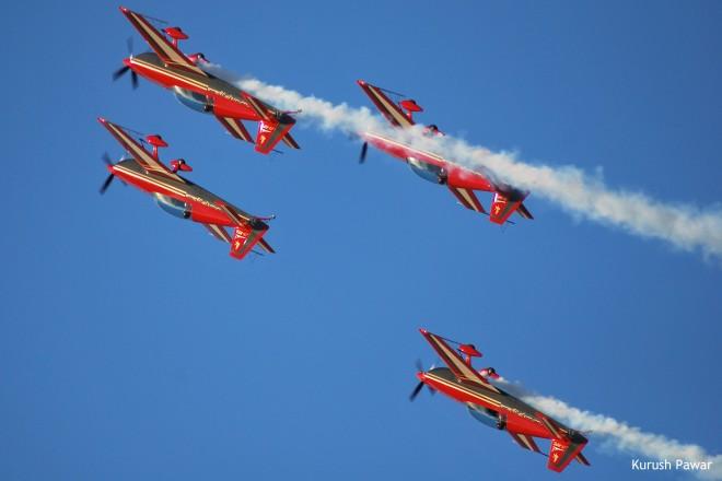 Royal Jordanian Falcons © Kurush Pawar