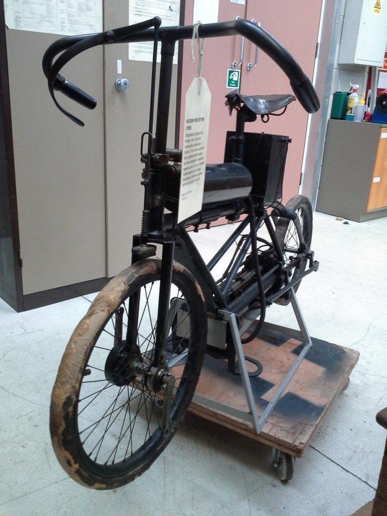 The Motor Bicycle after conservation