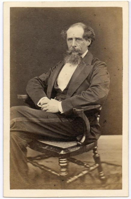 Carte-de-visite of Charles Dickens, by Mason and Company, Norwich. From the Howarth-Loomes collection at National Museums Scotland.