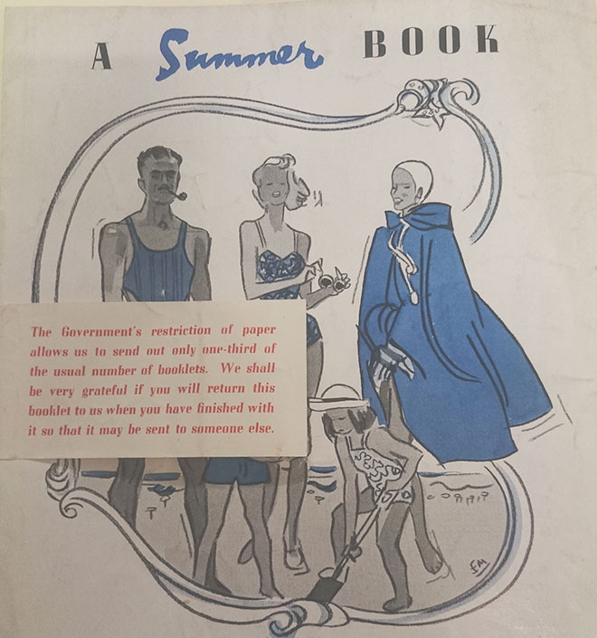 Wartime catalogue from Jenners Department Store