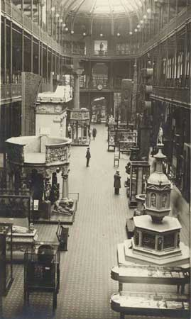 The Grand Gallery of the National Museum of Scotland in 1932