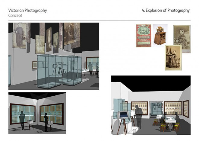 Mood board for the exhibition