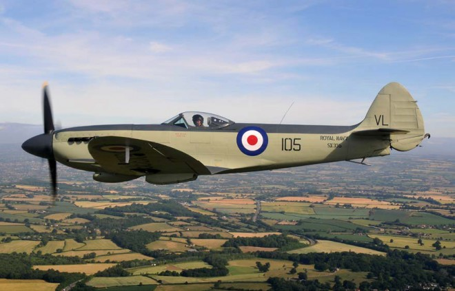 Royal Navy Seafire will be at Scotland's National Airshow on Saturday 25 July 2015