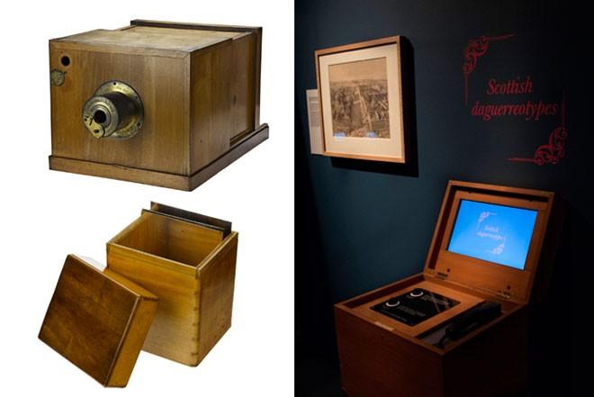 Box camera and AV unit