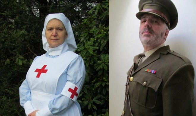 Costumed interpreters from Artemis Scotland