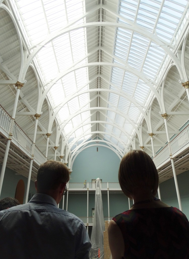 Admiring the new Science and Technology galleries