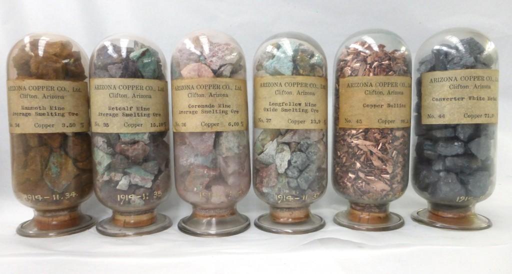 11 Copper ores and metals