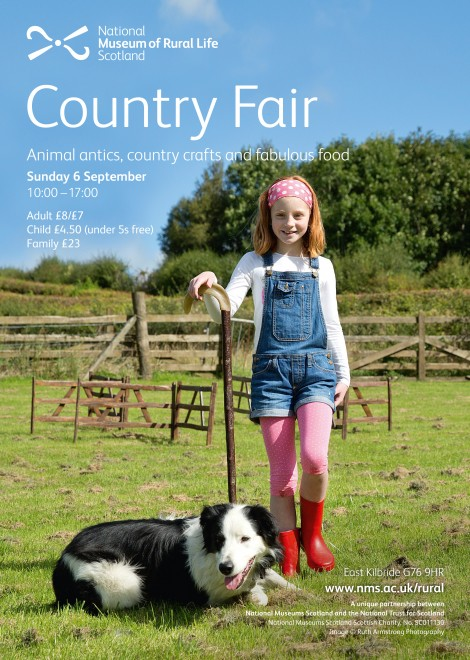 Animal antics, country crafts and fabulous food at the Country Fair, National Museum of Rural Life.