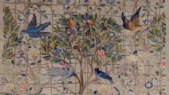 May Morris embroideries