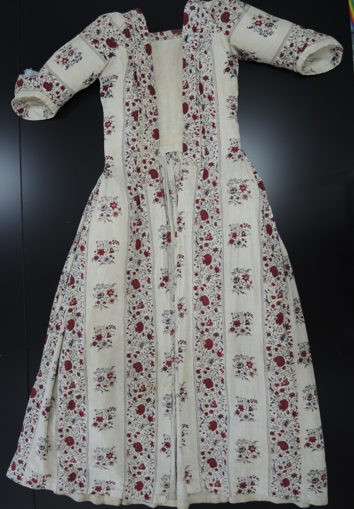 Dress after conservation