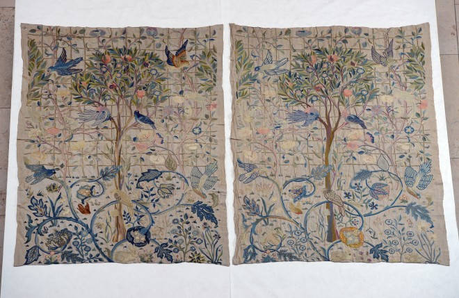 Rare May Morris Embroideries Saved for the Nation