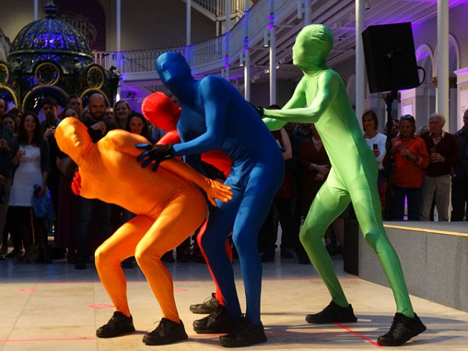 Discotheque Machine performing at Museum After Hours: Free Fringe Takeover
