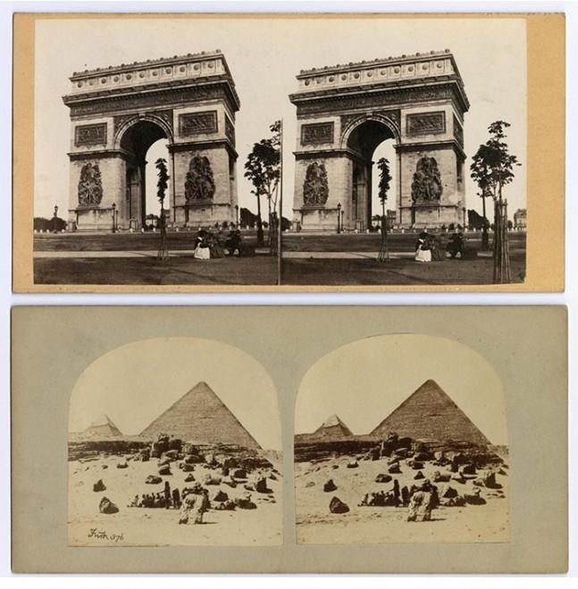 Paris and the Pyramids
