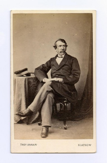Carte-de-visite depicting Dr David Livingstone, famous missionary and explorer, by Thomas Annan, Glasgow
