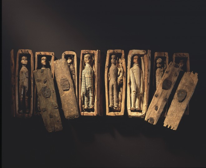 The Arthur's Seat coffins