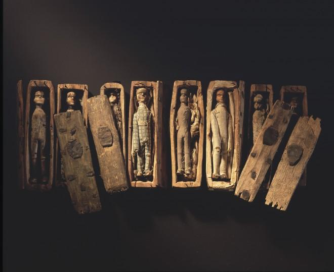 The Arthur's Seat coffins