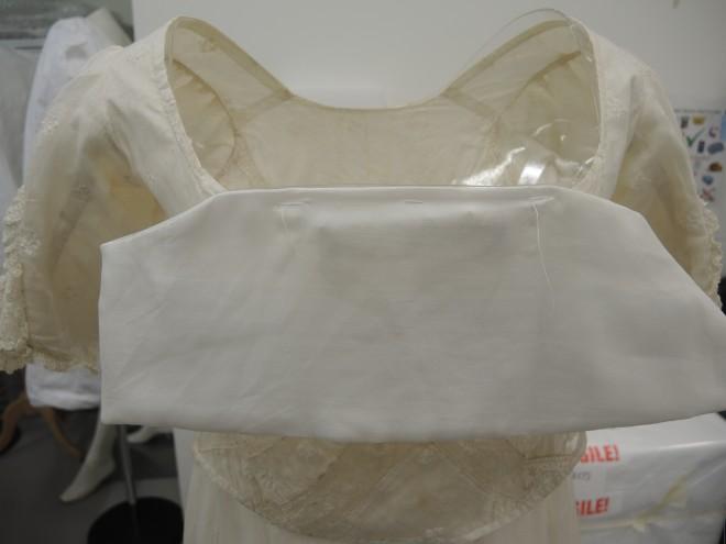 White musline 5 bottom