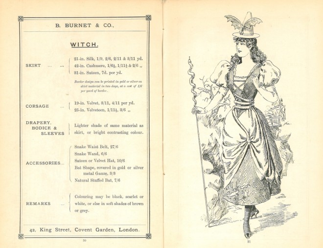 Thirty original sketches for fancy costumes, B. Burnet & Co.
