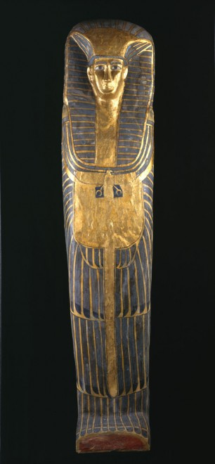 The coffin of the Qurna queen