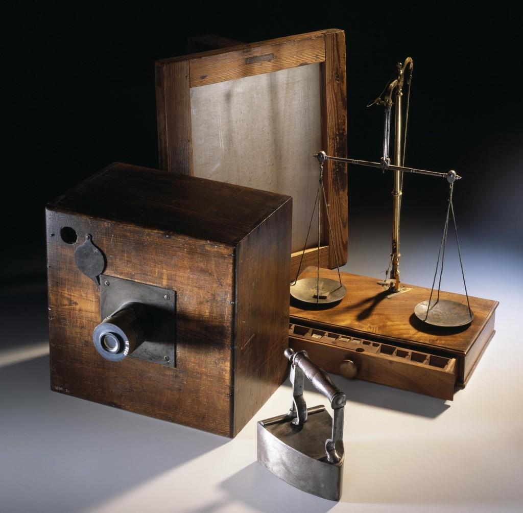 Talbot's photographic equipment