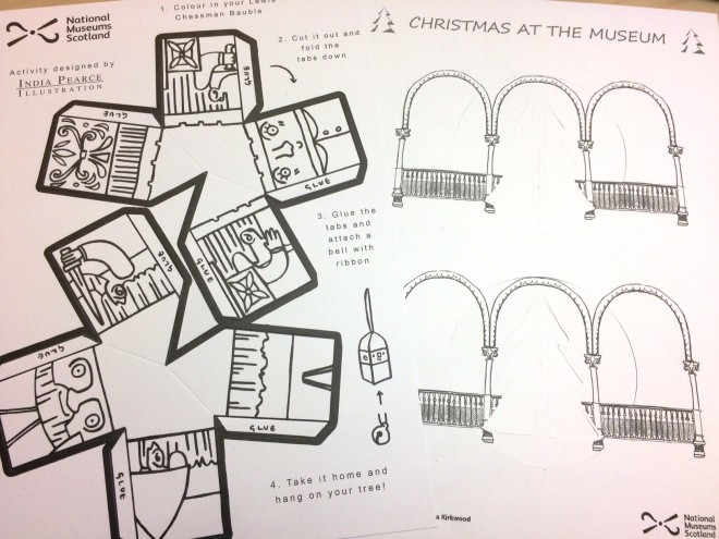 Design templates by India and Augusta for the Christmas Crafternoon decorations.