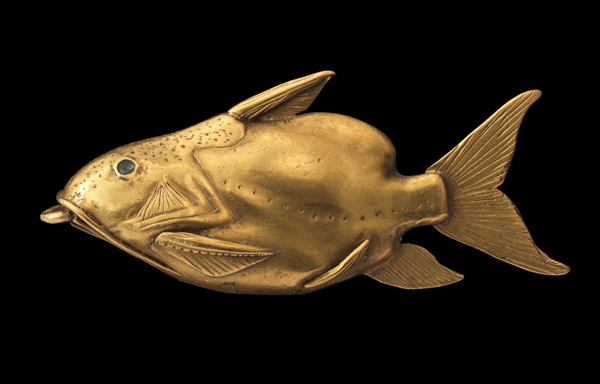 Fish pendant from Ancient Egypt
