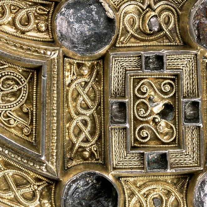 A details of the Hunterston Brooch