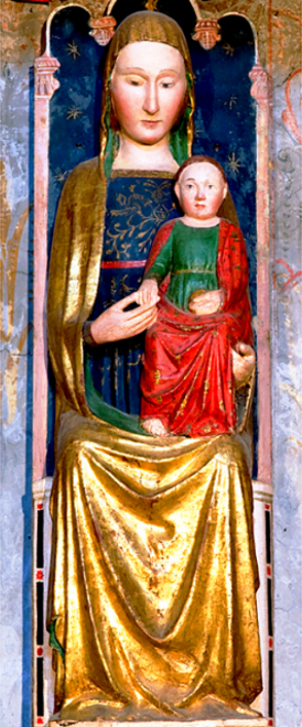 Maestro della Santa Caterina Gualino's Madonna and Child, Logna di Cascia