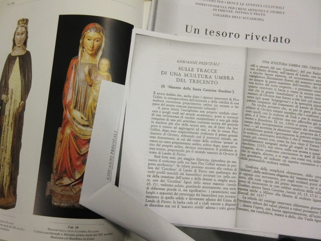 Some of Giovanni Previtali's publications