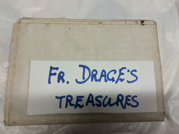 Fr. Drage's treasures