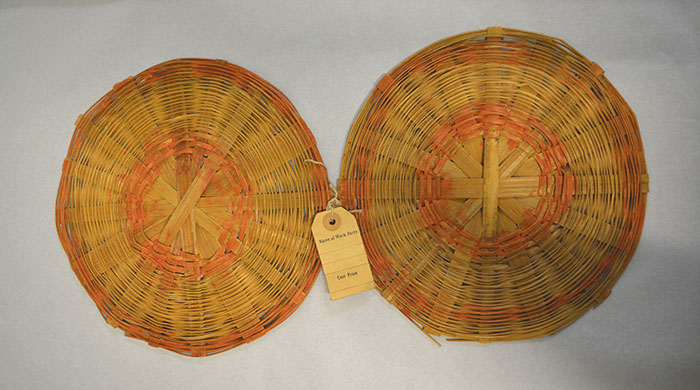 Rattan discs