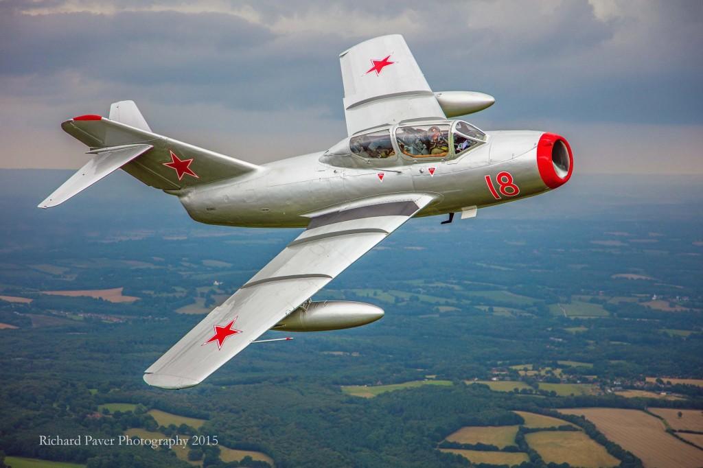 Norwegian Historic Squadron's MiG 15© Richard Paver Photography 2015