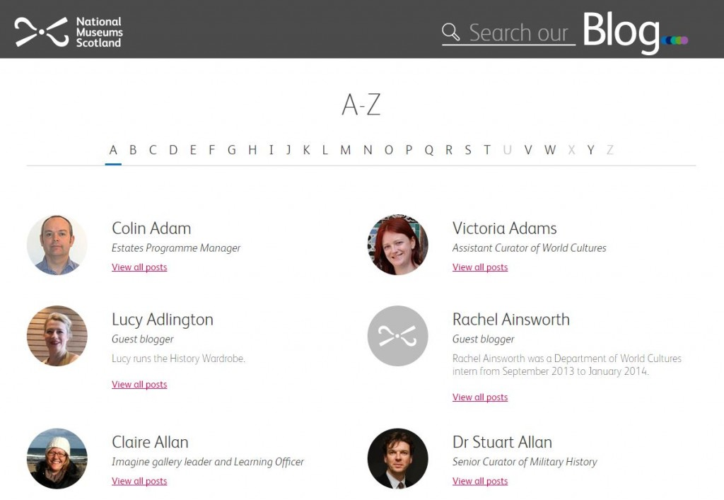 The new A-Z of authors