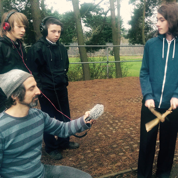 Recording sounds 'in the field'