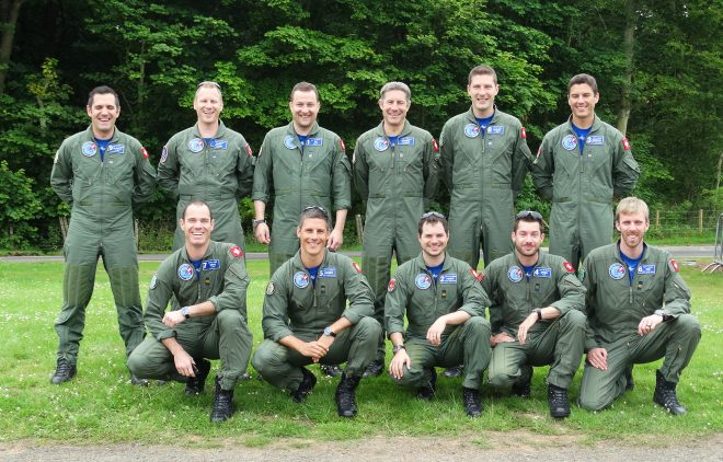 Swiss Air Force PC-7 TEAM at Scotland's National Airshow 2016
