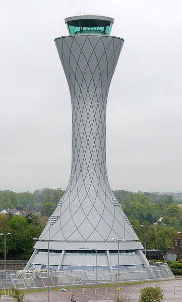 Air Traffic Control tower at Edinburgh Airport © NATS Press Office