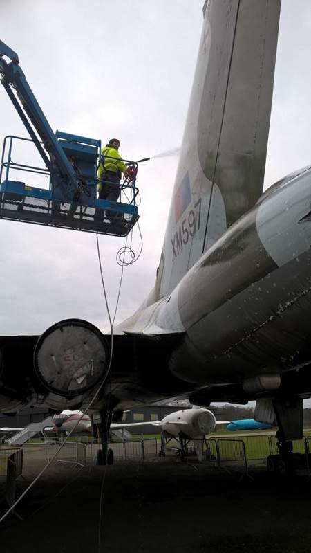 Cleaning the Vulcan