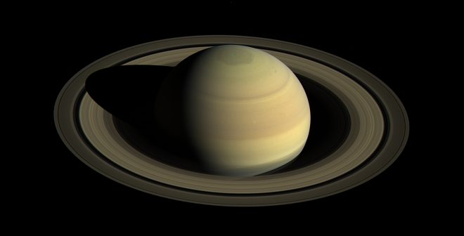 View from Casini showing Saturn's northern hemisphere in 2016 © Credit: NASA/JPL-Caltech/Space Science Institute.