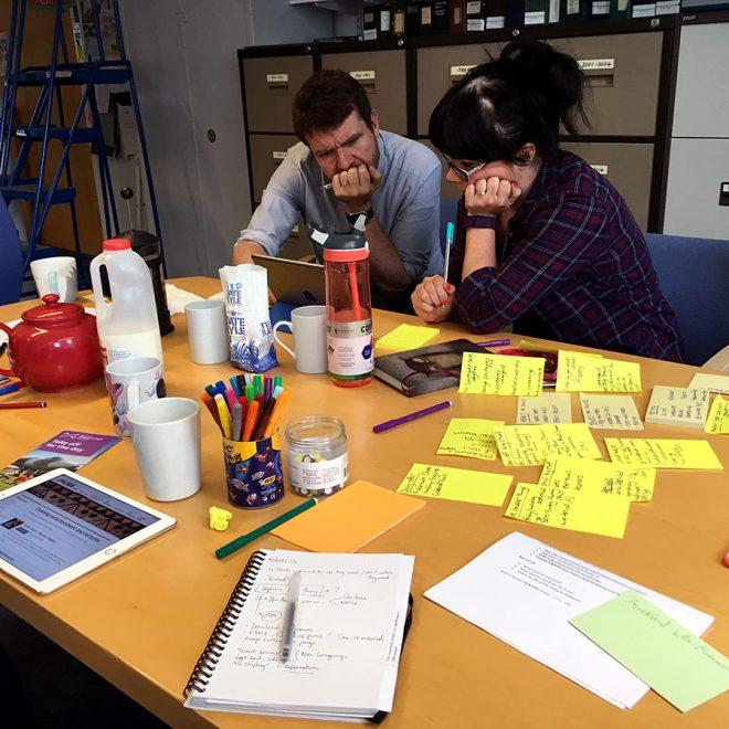 What's On digital workshop