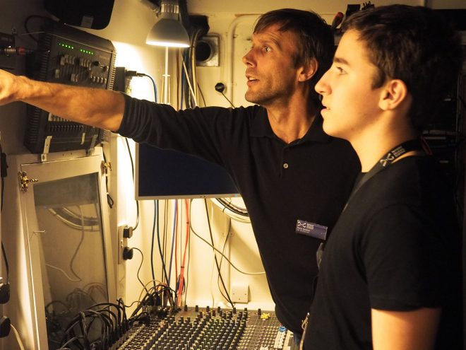 Being Shown the Lighting Control