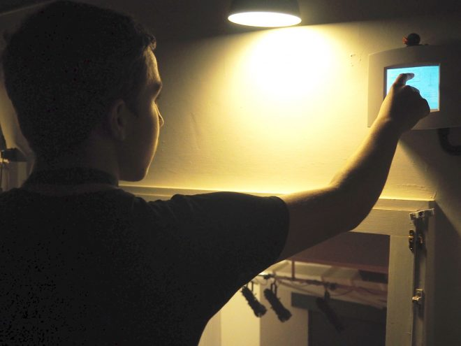 Being Shown the Projection Room